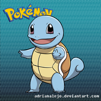 Squirtle by adrianalejo