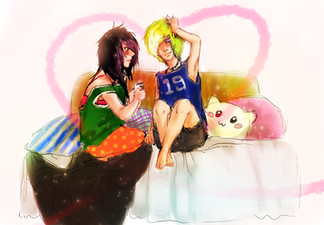 Lazy Morning by LzzleFzzle