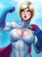 Power girl by ragecndy