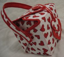 red heart chinese box purse by Axelkin
