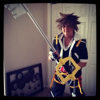 Sora Cosplay Completed. by tangeypanda
