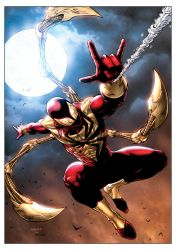 Iron Spiderman by FlowComa