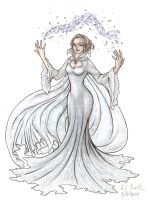 Ingrid the Snow Queen by HLMartin