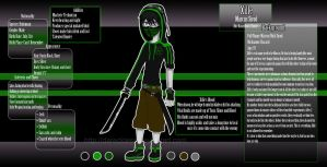 Character Sheet: Xille by DaReckless