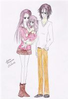 Bella, Edward and Nessie by Lacus-Clyne