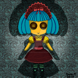 Doll by pen-it-black