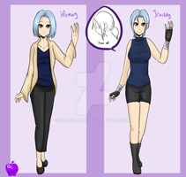 {DGM} Emma aditional outfits by Mama--Miki