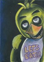 Chica ACEO-Five Nights at Freddy's by Seccrani