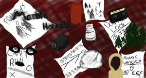Marble Hornets by sharkiesketches