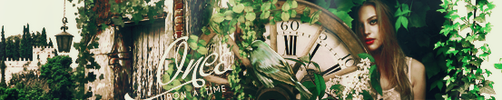 Banner - Once upon a time by aidakuku