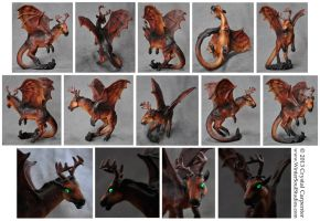 Jersey Devil Demon Dragon by soulofwinter
