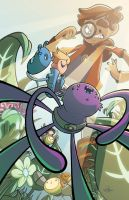 Bravest Warriors #13 Variant Cover by JavierReyes