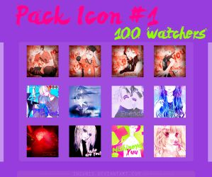 [Pack] Icons - 100 Watchers!! by Inianis