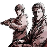 The Winchester brothers by Spring-Kalim