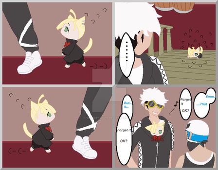 Gladion the kitten by SuperRosey16