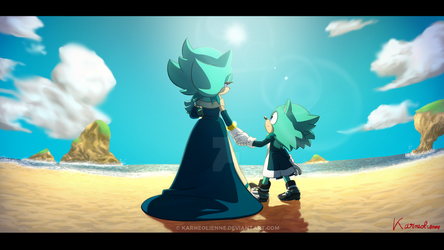 Horizon of the Memory by Karneolienne