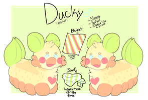 {MYO PACAPILLAR} - Ducky by royalraptors