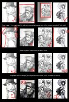 How To Enhance Pencil Drawings by vivsters