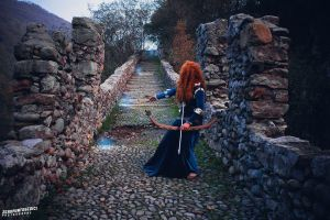 Merida Disney Cosplay by AxelTakahashiVIII