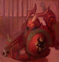 Word Bearers by megalaros