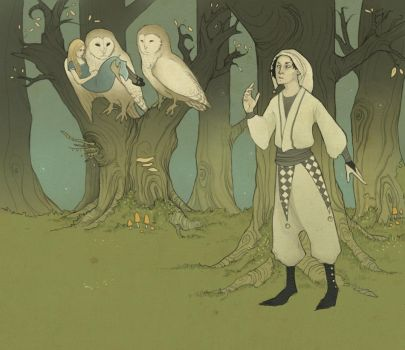 The Owls Have Taken Her by Neverfly