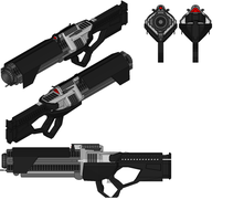 Haltek Particle Projection Cannon Rifle by madcomm