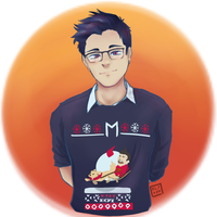 Markiplier christmas sweater by Elyxen