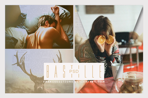 bastille // .PSD by FranceEditions