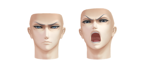 [MMD] Download- Jin's face by Kinishan