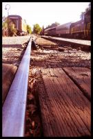 On a one way track... by TeaPhotography