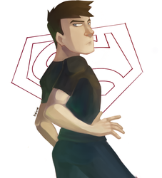 Superboy by hielorei
