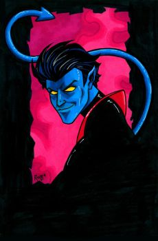 Nightcrawler Headshot2 by RichBernatovech
