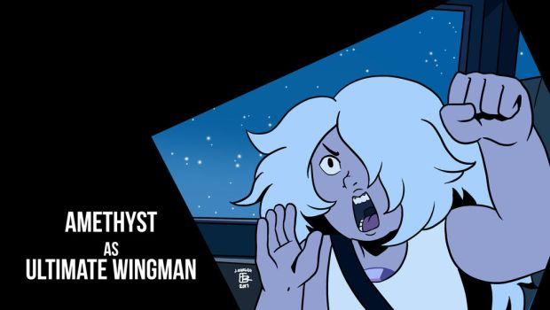 Amethyst the Ultimate Wingman by NagseoNinja