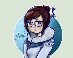Mei - Overwatch by Idzumi-chan