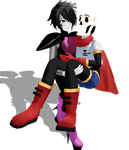 MMD Papyton by Foxvinny-art