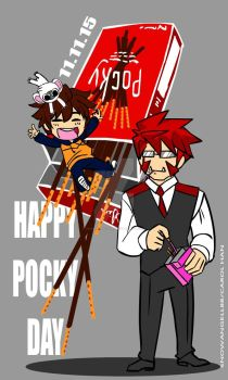 Happy Pocky Day by SnowAngell88