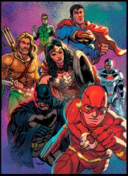 JUSTICE LEAGUE by jdavidlee1979