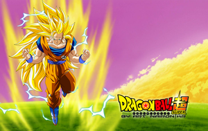 goku ssj3 vs bill dragon ball super by naironkr