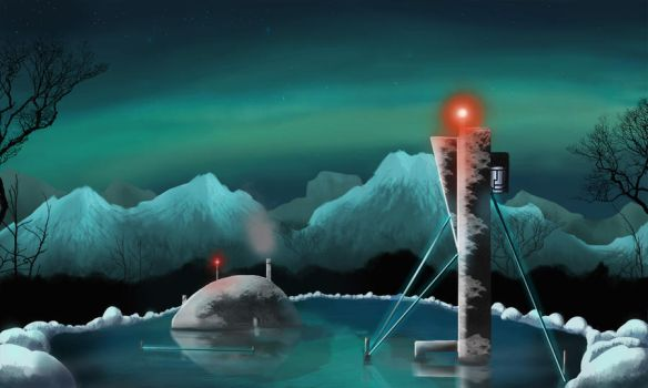 Arctic Station by connoson