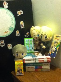 Hetalia Collection-as of August 4, 2012 by Stella-Madrigal-Wolf