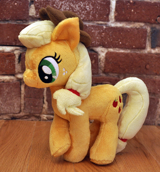 Applejack plush by MangoIsland