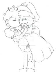 Rescuing Princess Totty by Z0MGedELR1C