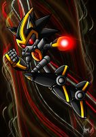 Shard the Metal Sonic by Berty-J-A