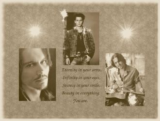 Johnny Depp Wallpaper by TearsoOfAnAngel