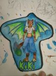 Water Color Badge by Paws-Prints