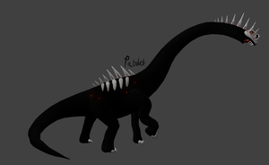 Grimm Concept model- Mokele mbembe by PatricktheHenchman
