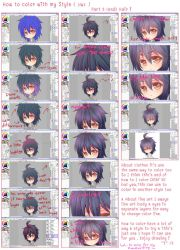 :My step to color Hair with Sai: by PrinceOfRedroses