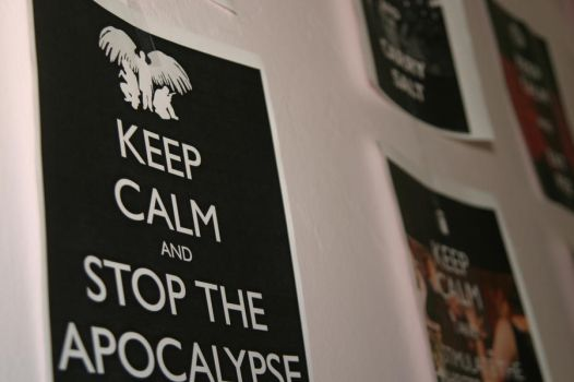 Keep Calm and Supernatural by musicalirony