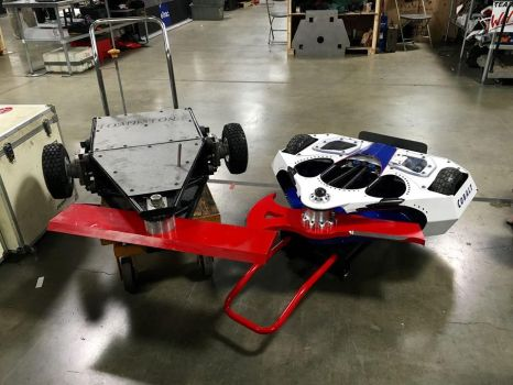 Battlebots-ABC season 2 Tombstone and Cobalt. by sgtjack2016