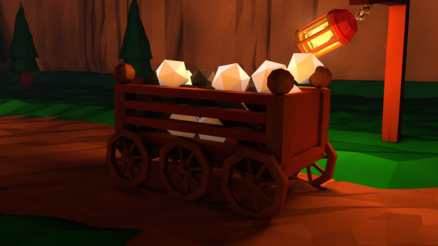 Cargo - Low Poly by Lithium-Polygon